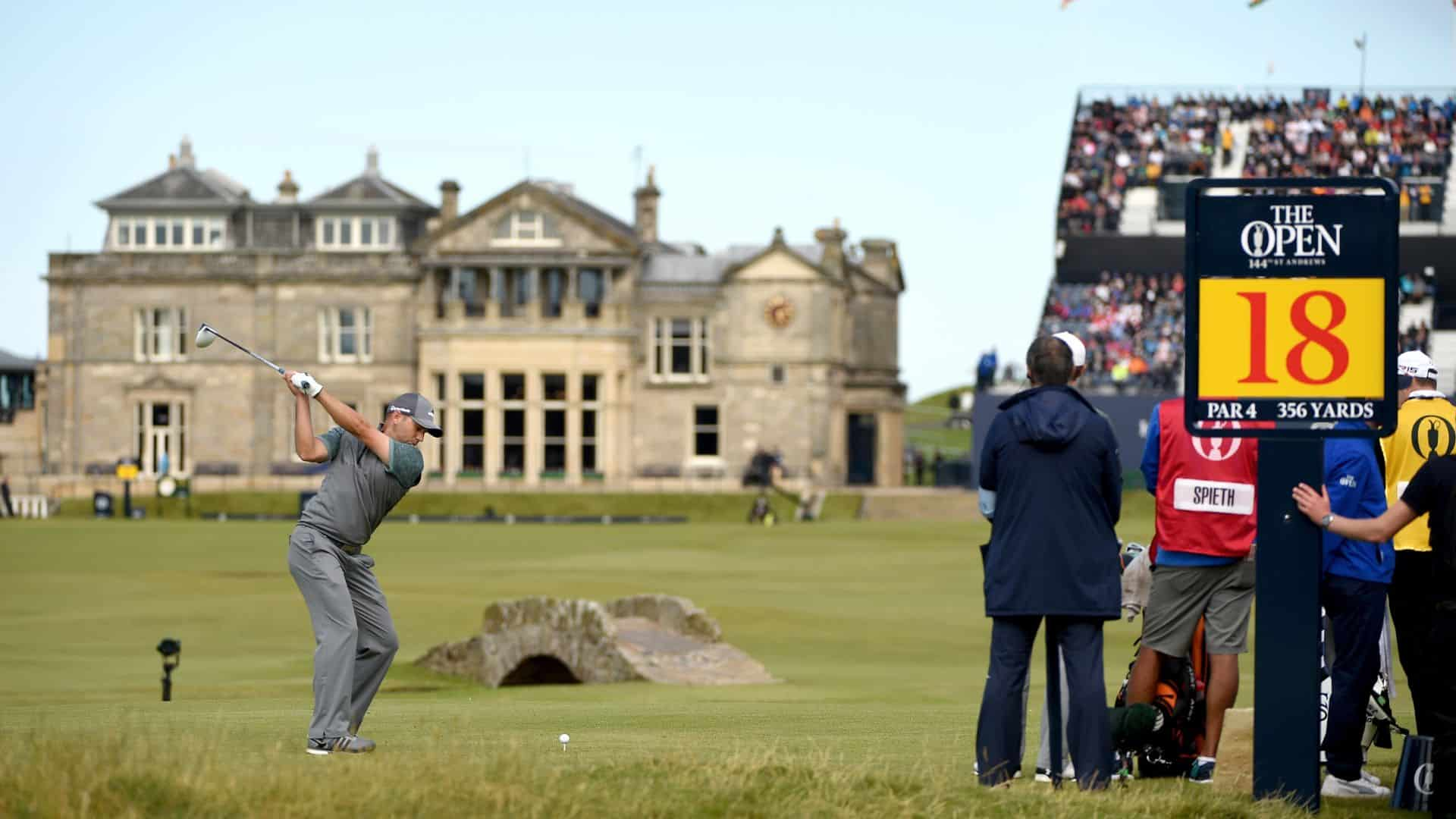 The 150th Open Championship in 2022 at St Andrews