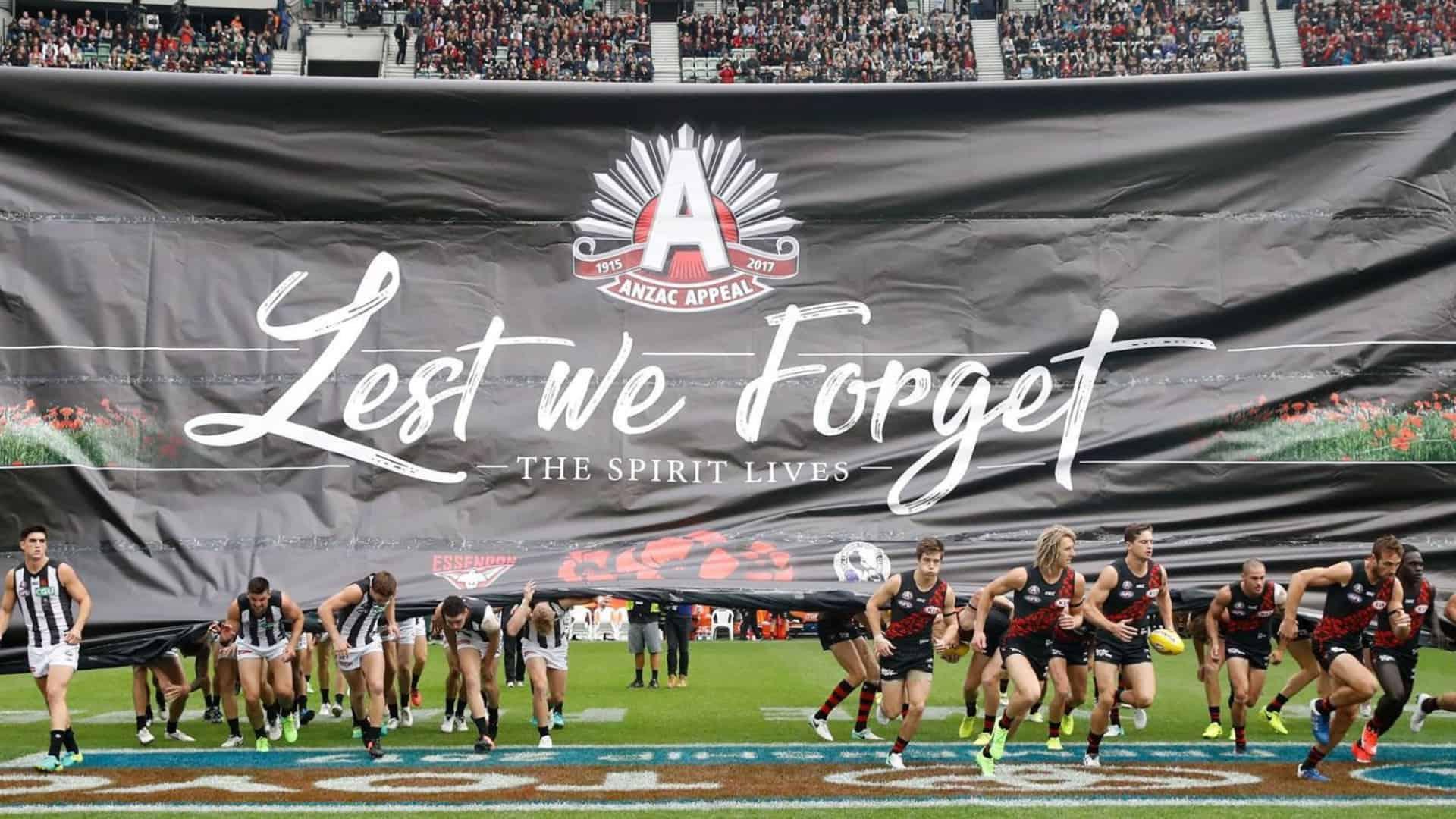 AFL Anzac Day 2021