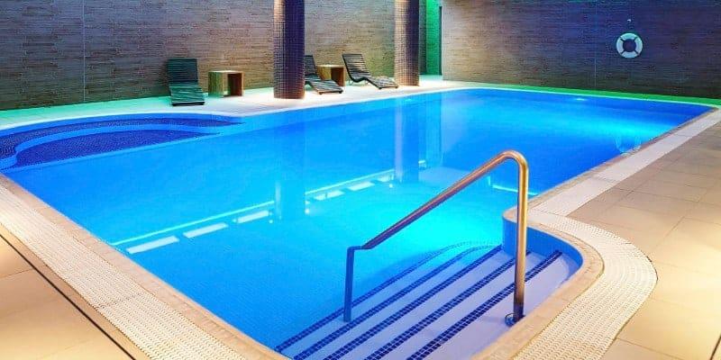 Novotel Edinburgh Park pool