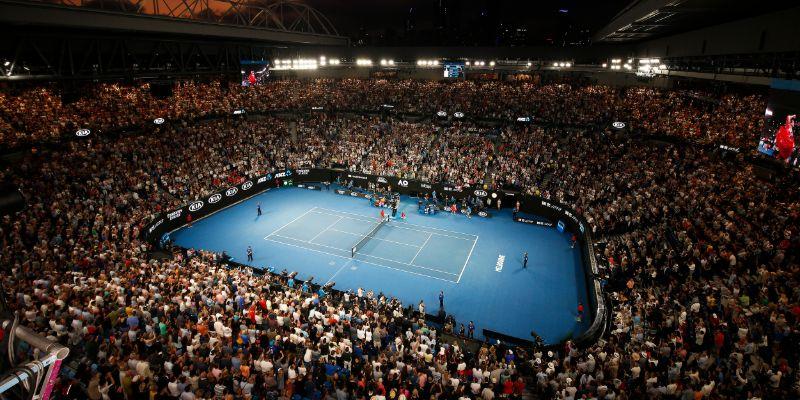 Rod Laver Arena - Final Three
