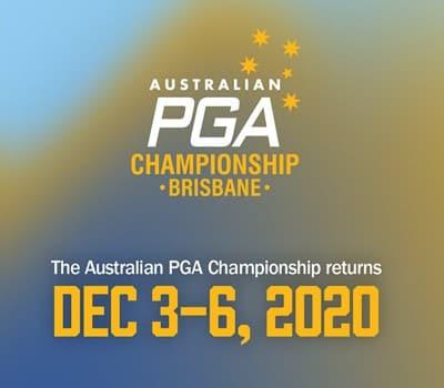 Australian PGA Championships - promotional banner
