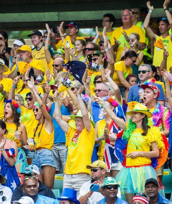 Sydney 7s fans