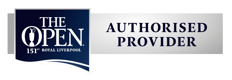 The Open 2023 Authorised Provider Logo
