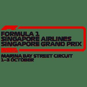 Singapore Grand Prix 2021 event title logo