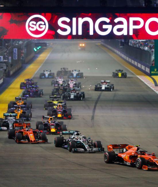 Singapore Grand Prix, Pit Straight