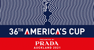 36th America's Cup Auckland 2021 presented by Prada logo