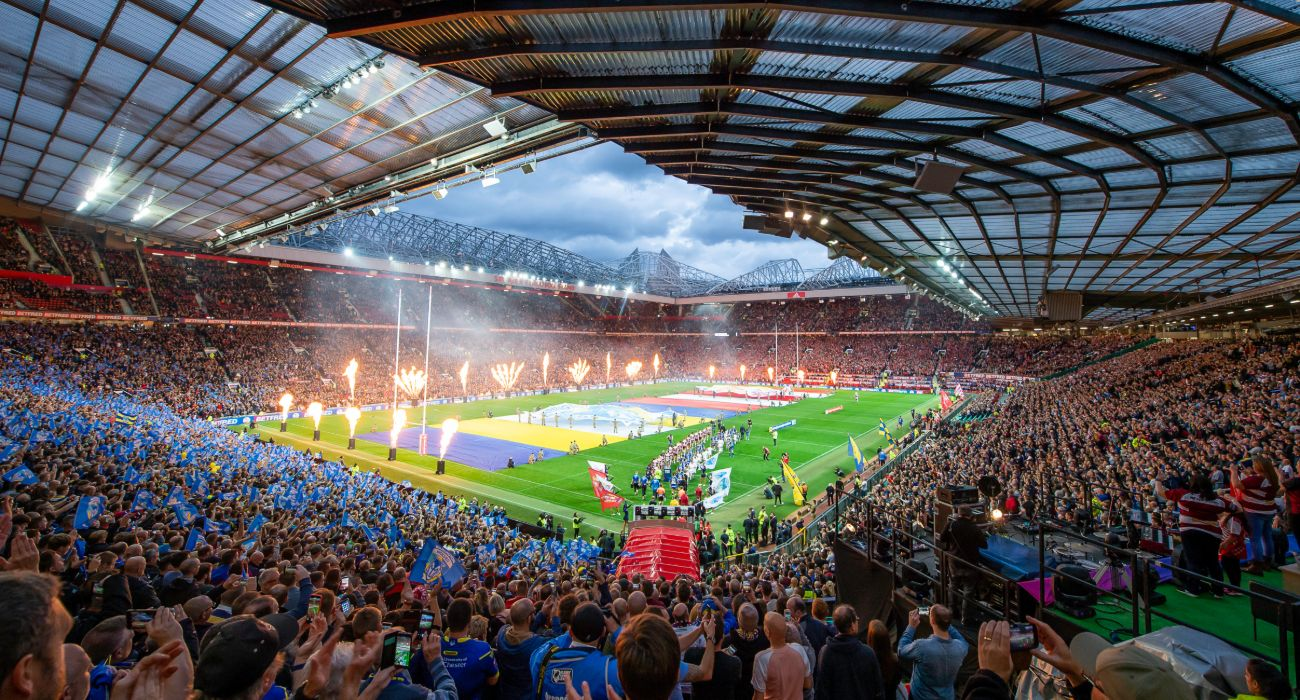 Rugby League World Cup England 2021 - Old Trafford