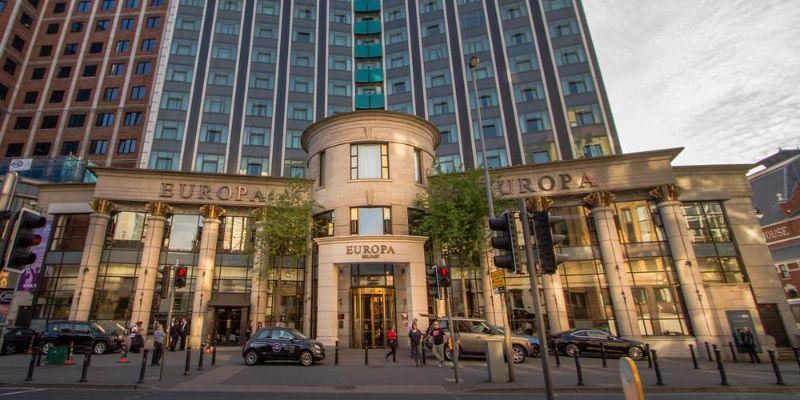 The Europa Hotel, Belfast, Northern Ireland