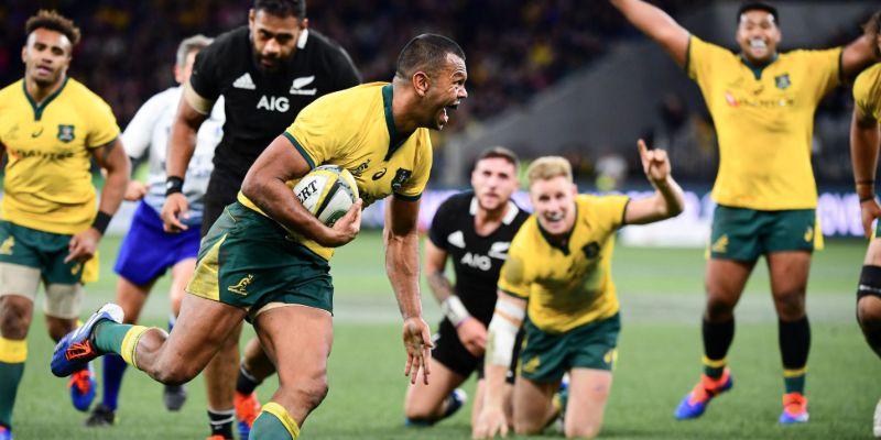 Wallabies vs All Blacks - The Rugby Championship 2020