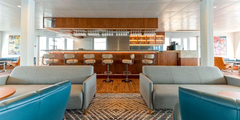 Coral Geographer - Bridge Deck Lounge bar