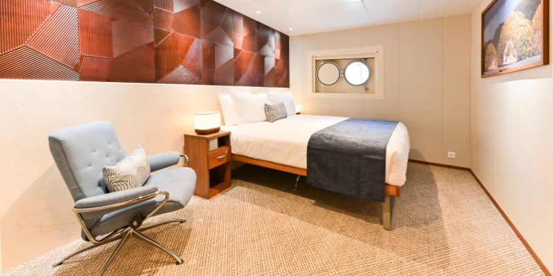 Coral Geographer - Coral Deck Stateroom