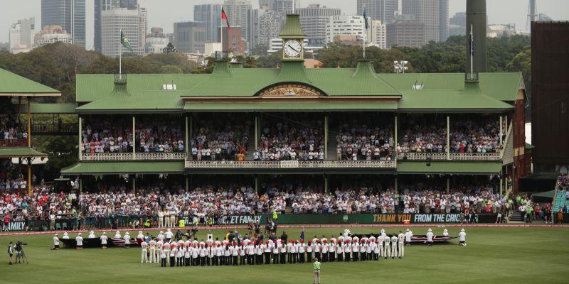 Ashes 2021 Sydney Test SCG 1