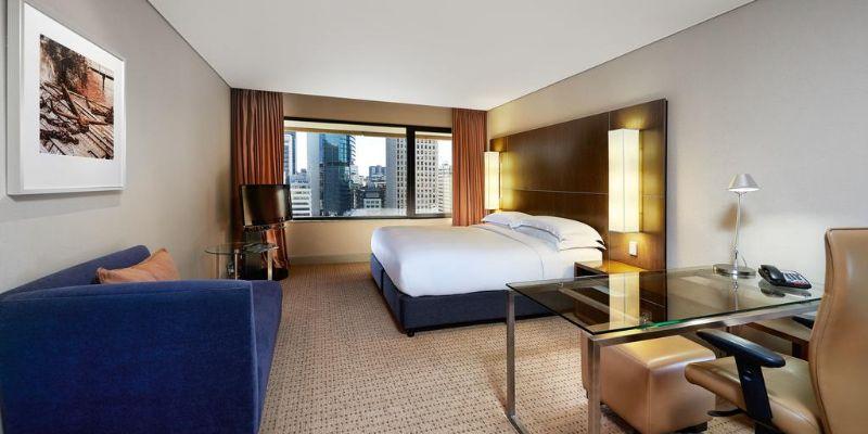 Hilton Brisbane guest room