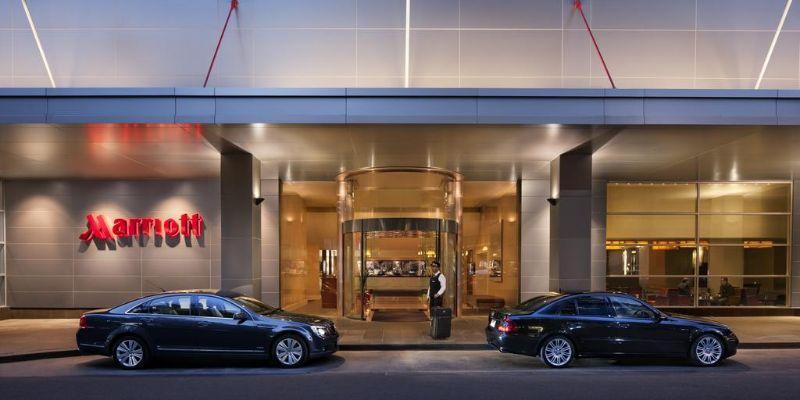 Marriott Melbourne entrance