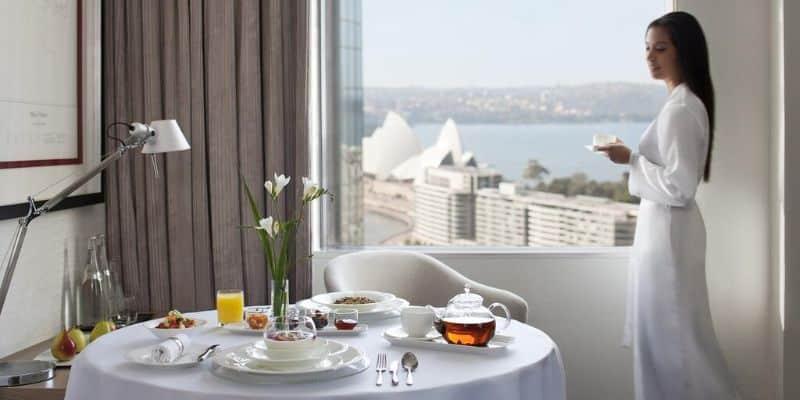 Sydney Harbour Marriott rooms