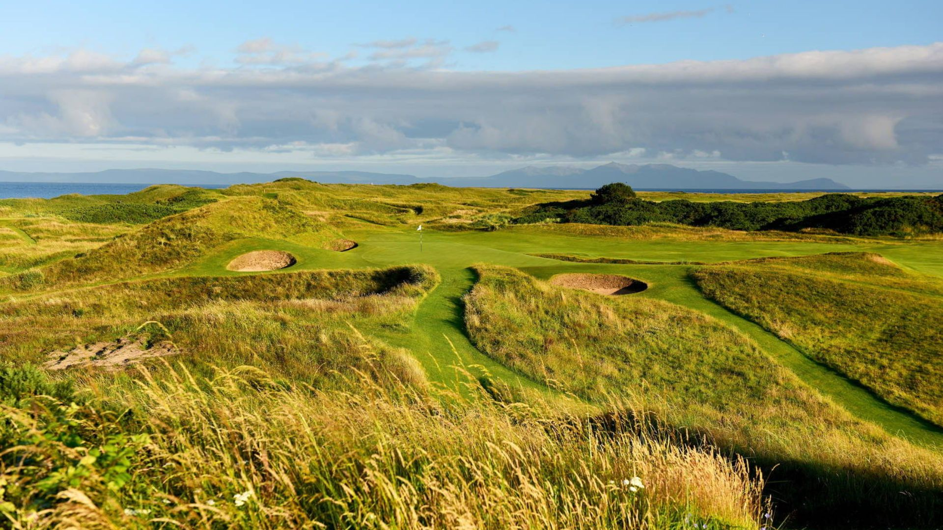 The 152nd Open Championship at Royal Troon in 2024 - 8th hole