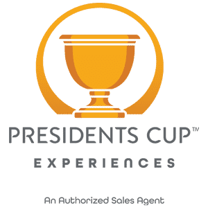 Presidents Cup 2022 Authorised Sales Agent Logo