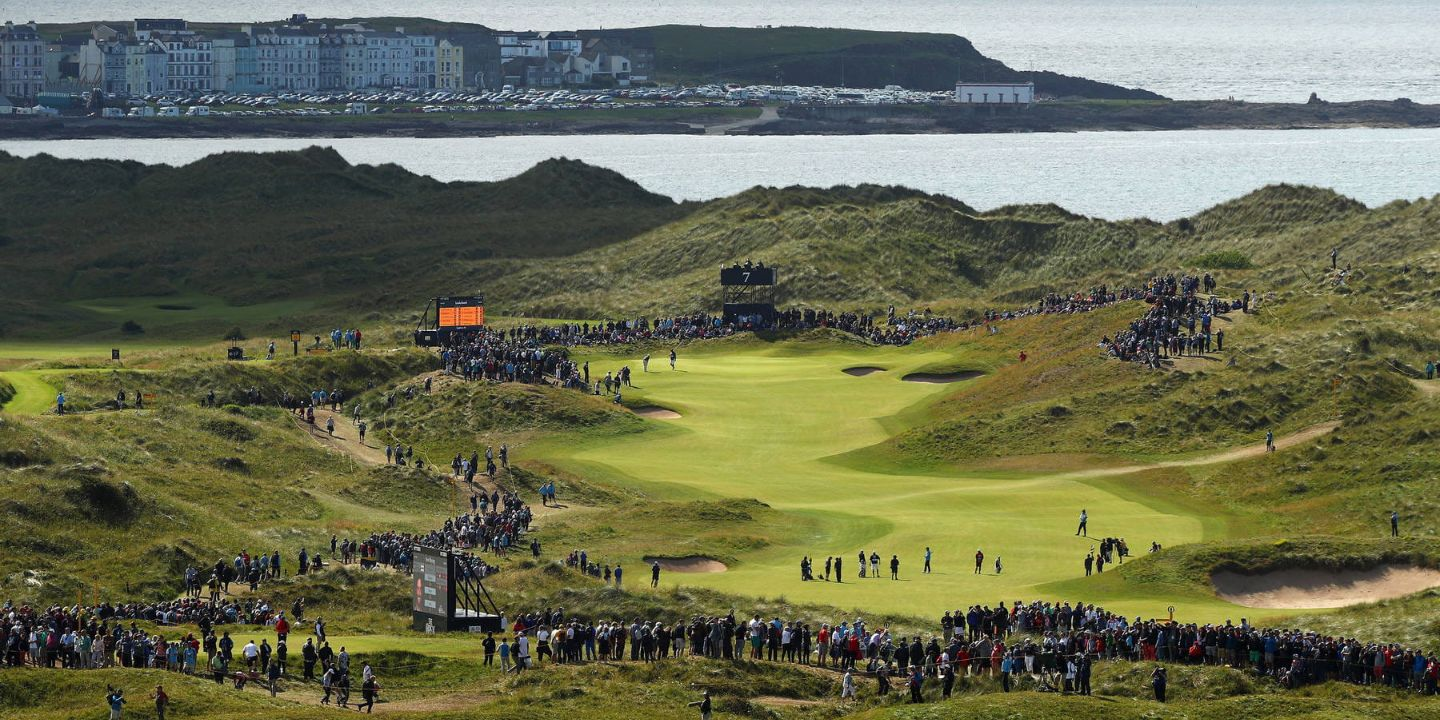 The 153rd Open at Royal Portrush in 2025