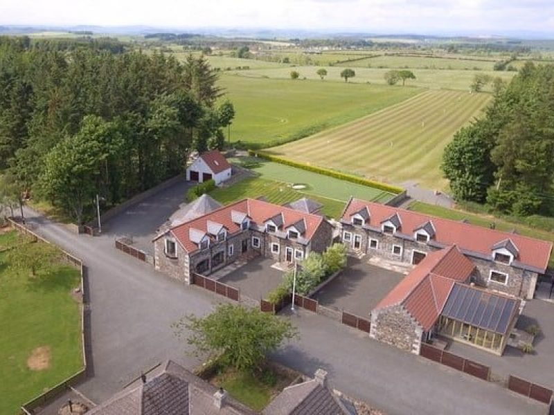 Hawkswood Country Estate aerial